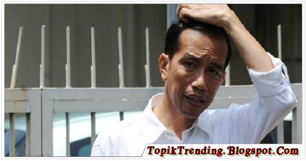 Jokowi : Dolar Naik, Saya Pusing