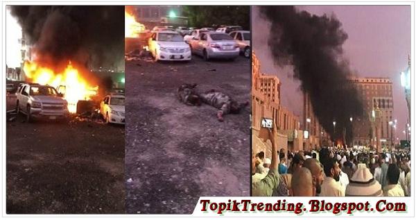 Bom Meledak di Dekat Kompleks Masjid Nabawi Madinah