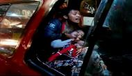 Permalink ke Heboh, Detik-Detik Jambret Sandra Ibu dan Bayi Dalam Angkot Ditembak Polisi