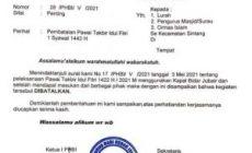 Permalink ke PHBI Kabupaten Sintang Batalkan Pawai Takbiran Sambut Idul Fitri 1442 H