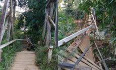 Permalink ke Jembatan Gantung Sei Inggar Ambruk, 5 Desa di Kayan Hilir Terancam Terisolir