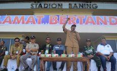 Permalink ke Jarot Winarno Buka Kompetisi Sepak Bola U-15 Tahun 2019 Se-Kalimantan Barat  di Stadion Baning Sintang